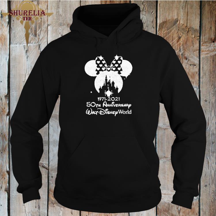 1971 2021 50th Anniversary Walt Disney World Minnie Shirt hoodie