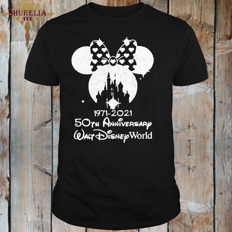 1971 2021 50th Anniversary Walt Disney World Minnie Shirt